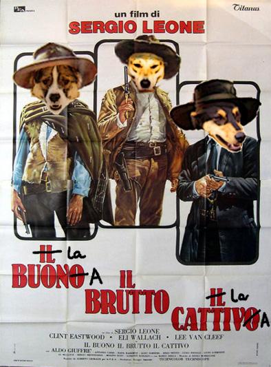 I rollerna: Java-Snava-Gummitarzan alias Kaffehunden som den Goda. Don Dino, King of East Side alias Gräddmagen i rollen som den Fula. Och sist men inte minst Cobran, den tapirnästa Terroristen alias Nitroglycerina i rollen som den Onda.