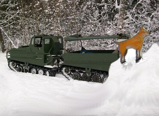 Jag bor granne med Hägglunds bandvagnsfabrik. Det är helt perfekt att vara där och fysträna för man vet aldrig när man måste samla Gula Hundarnas...