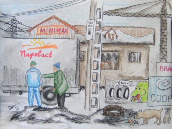 Jaja, det är drygt med förändringar men jag hade förmodligen varit ännu magrare och hungrigare om jag hade fortsatt gå runt i Rumänien och letat mat bland soporna.