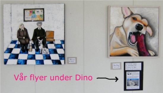 Mellan veterinärkliniken i Bukarest och mitt porträtt så fanns det infospridning av min sort...