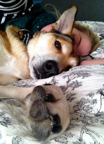 En skön säng och en egen morso är inte så svårt att anpassa sig till när man varit van att chilla på stritan.